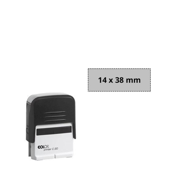 Immagine Prodotto Timbro Autoinchiostrante Rettangolare Colop C20