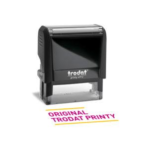 Timbro Autoinchiostrante Original Trodat Printy 4.0 Varie Misure