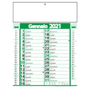 Calendario Personalizzabile Olandese Blu